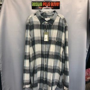 Plaid GoodFellow Long Sleeve Button Down